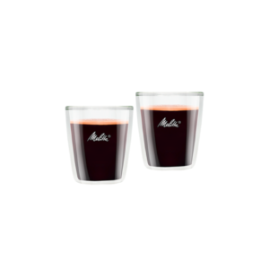 MELITTA zestaw oryginalnych szklanek do espresso 80ml 2 sztuki