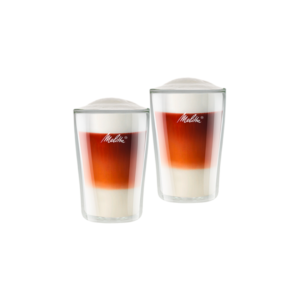 MELITTA zestaw oryginalnych szklanek Latte 300ml 2 sztuki